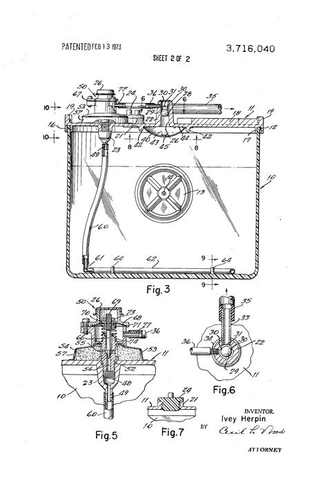 Patent US3716040 - Fuel additive inductor for internal