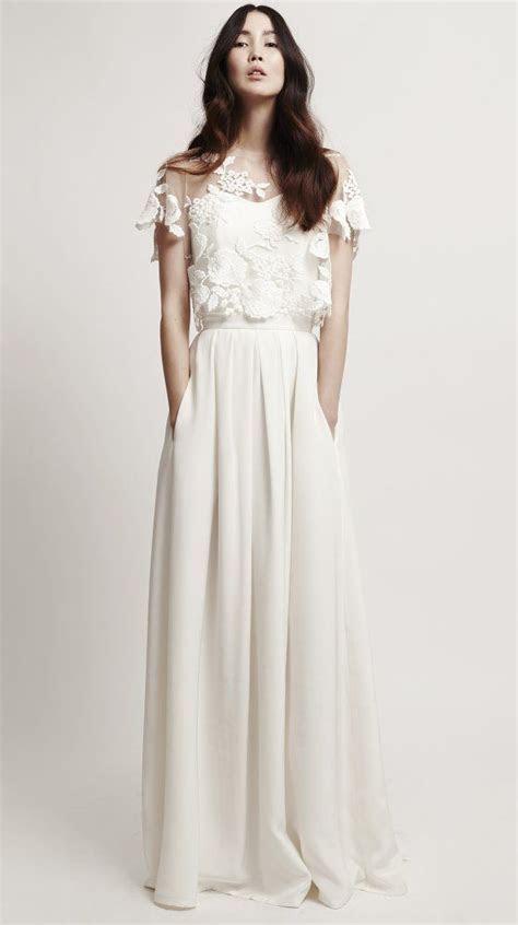 25  best ideas about Minimalist wedding dresses on