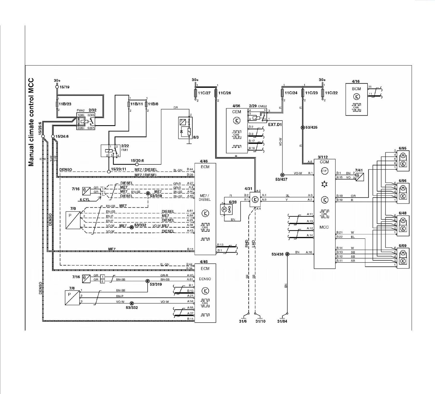 Volvo S60 Serpentine Belt Routing Diagram