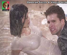 Deborah Secco e Vitoria Strada sensuais na novela Salve-se quem puder