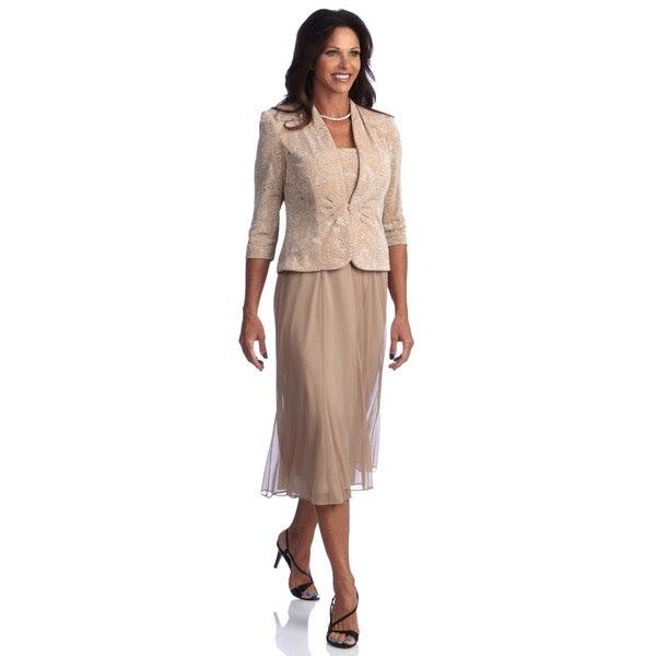 Rack-yourminds: R & M Richards Plus Size Jacket Dresses