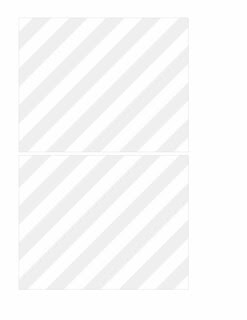DOUBLE pale grey diagonal stripe bold - A2 card LANDSCAPE or HORIZONTAL