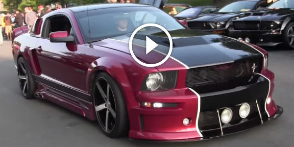 Beautiful CERVINI ELEANOR FORD MUSTANG At A Glance A