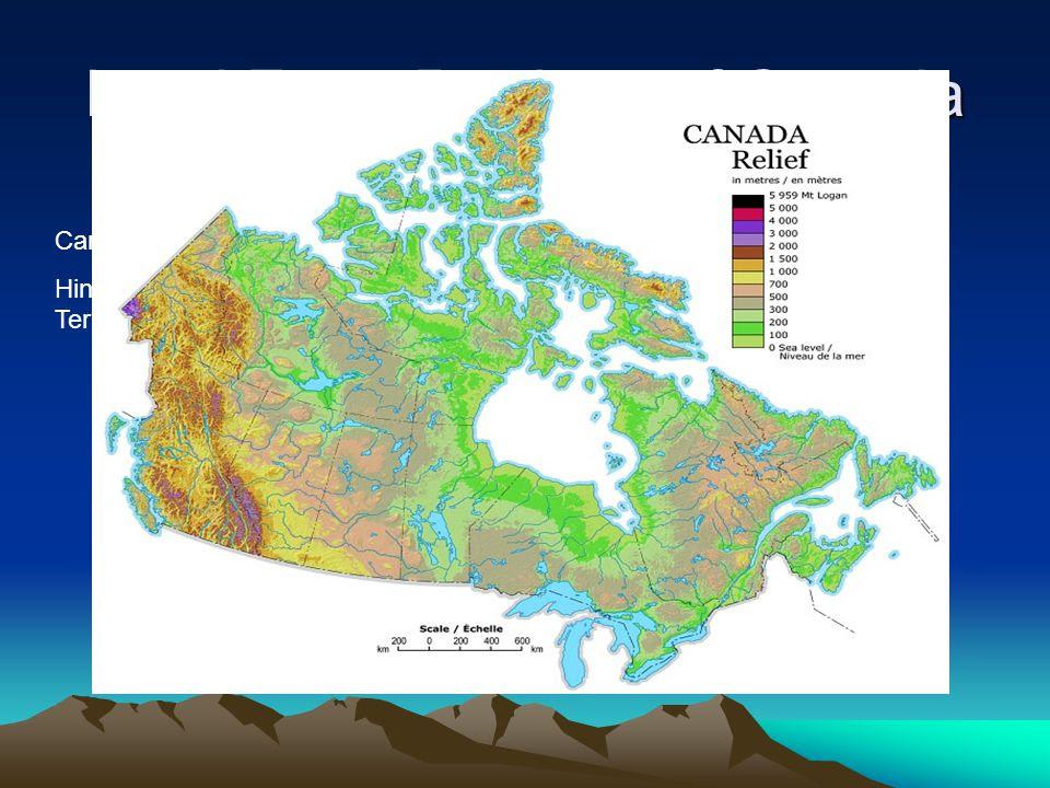 Land+Form+Regions+of+Canada