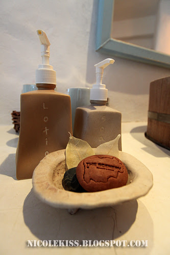 scenery soap and lotion
