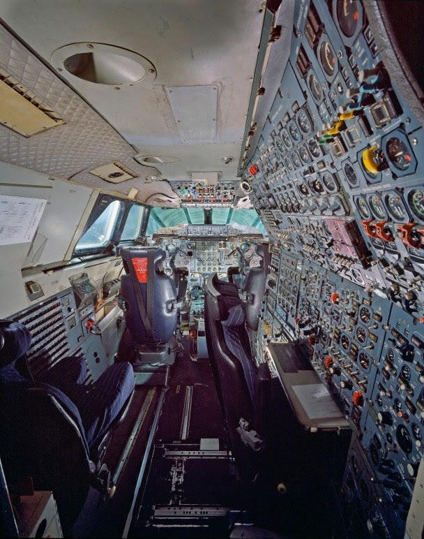 Aérospatiale-BAC Concorde cockpit
