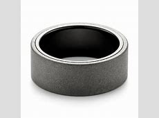 Raw Tungsten Carbide Men's Wedding Band #103883   Seattle Bellevue   Joseph Jewelry