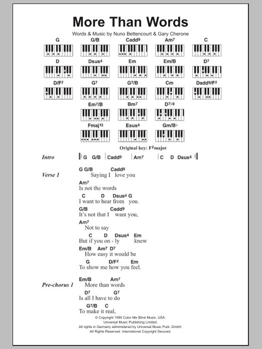 Piano Chords Lyrics Metal Search Results Sheet Music