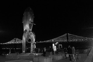 The Bay Lights - Raygun Gothic Rocketship