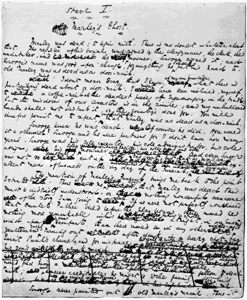 Original manuscript of Page 1.