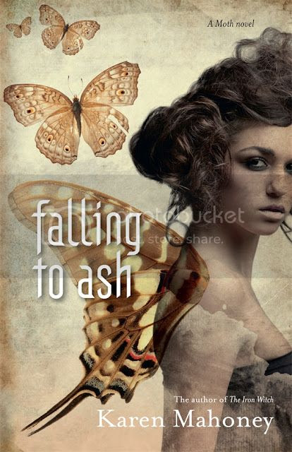 Falling to Ash by Karen Mahoney Aussie Cover