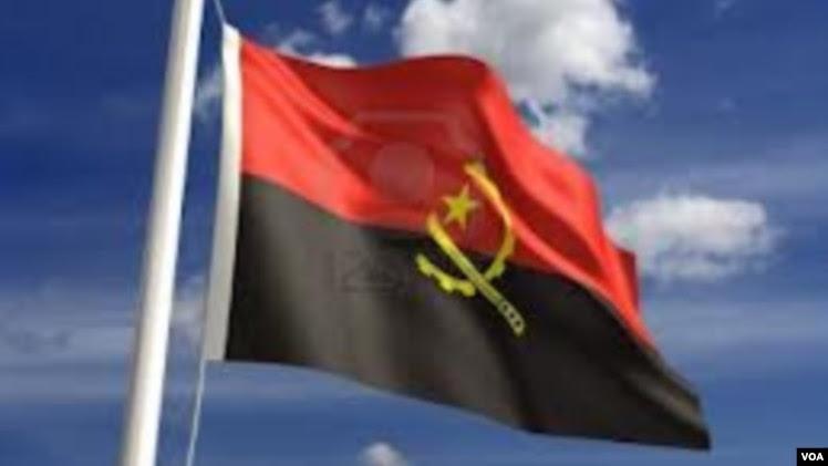 Angola flgag bandeira