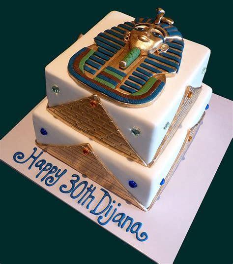 Tutankhamun Egyptian Cake   Ancient Egyptian Party   Cake