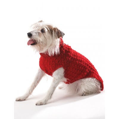 Crochet Dog Coat