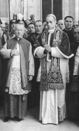 Election de Sa Sainteté le pape Pie XII
