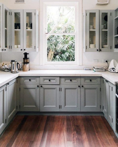 Increasingly people who are interested in kitchen cabinets make many developers kitchen c ✔ Idea 52+ Kitchen Cabinets Hardware Images,