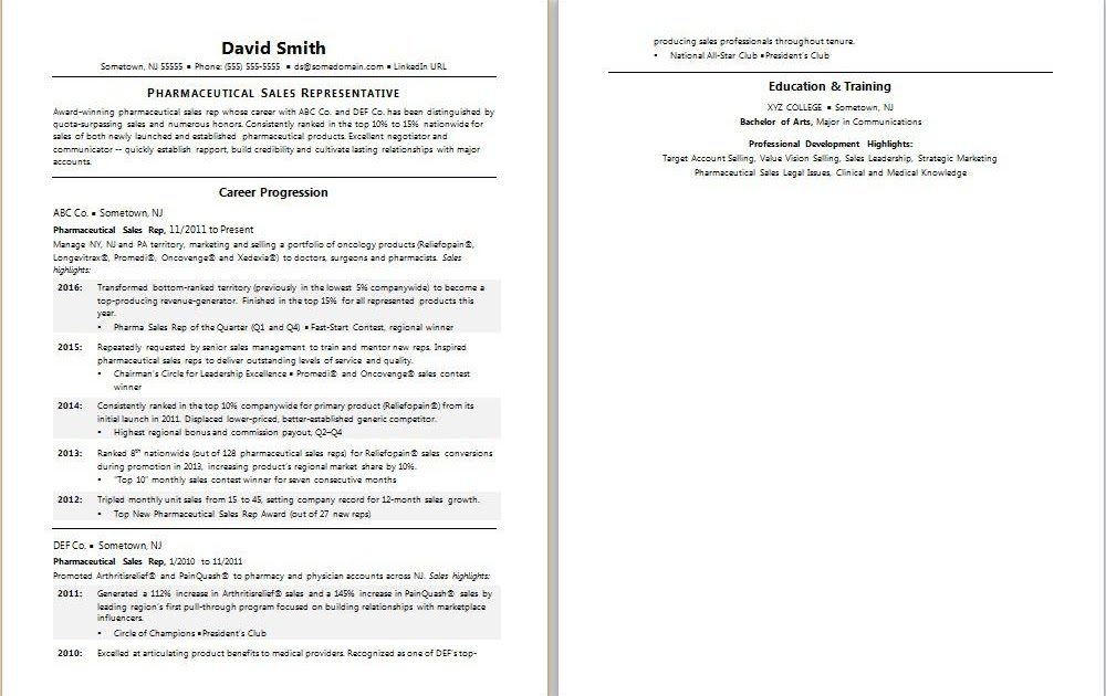 professional highlights for resume