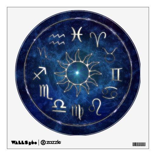 Zodiac Wall Decor from Zazzle.