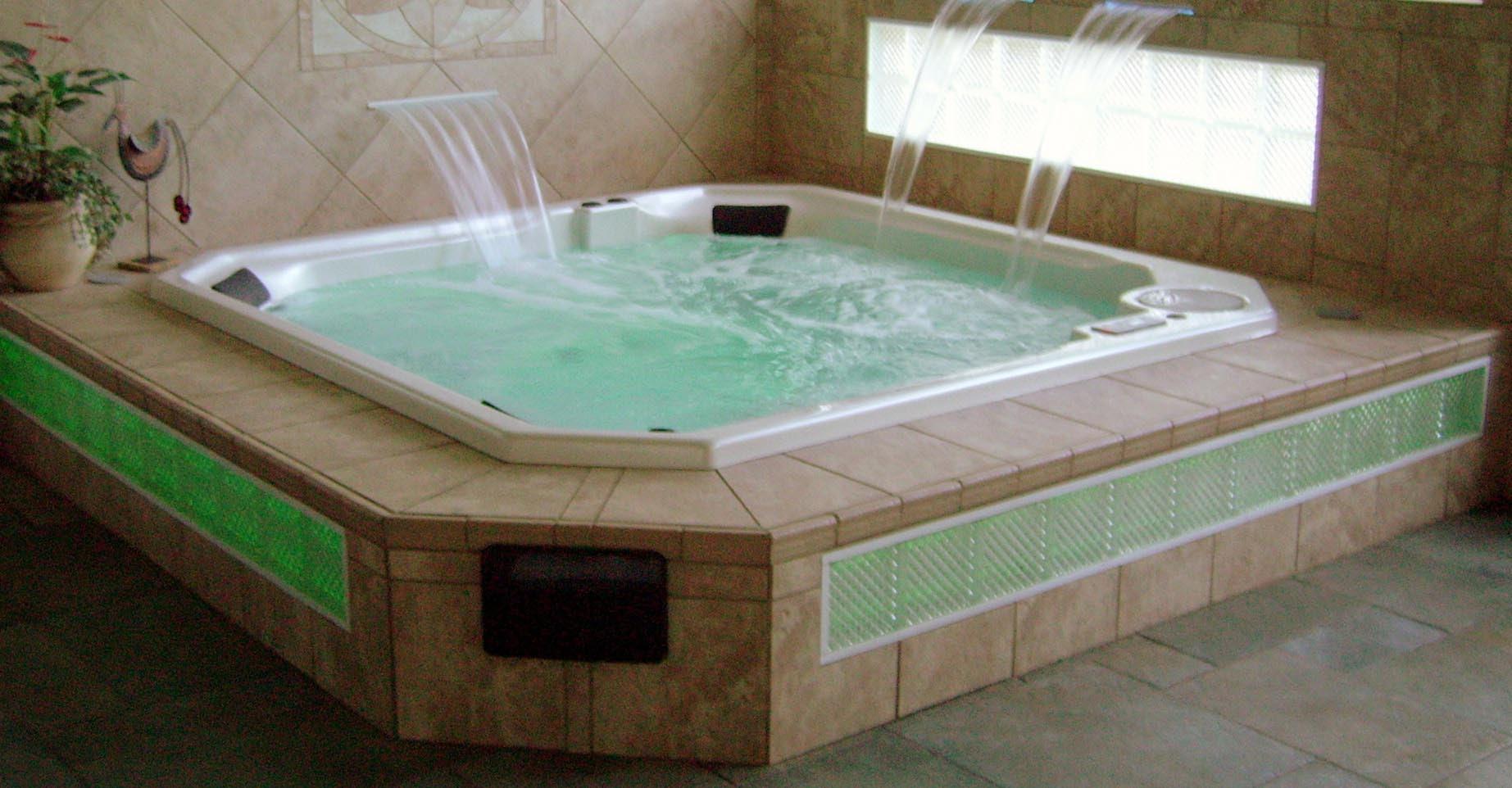 above ground hot tub installation