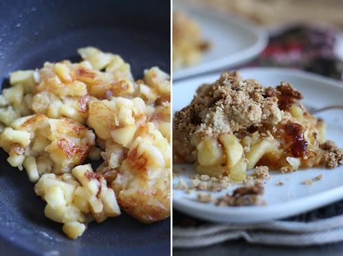 Poêlée de pommes au beurre salé