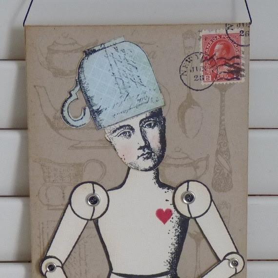 Tea Lover Paper Doll Envelope
