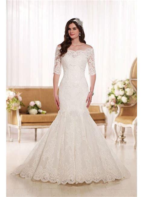 Off the Shoulder Wedding Dresses   hitched.co.uk
