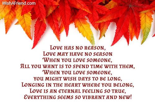 Love Is An Eternal Feeling Love Poem