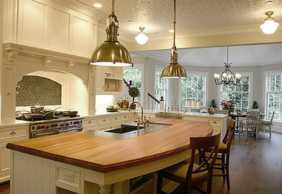 The Island - Kitchen Design Trend Here To Stay   Simplified ...