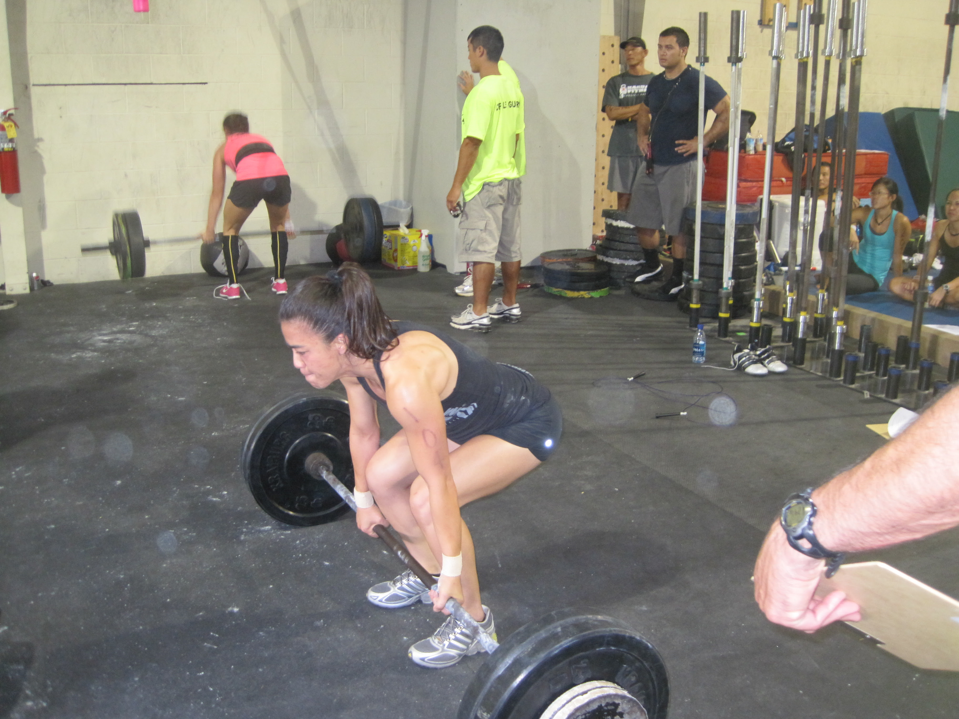 A Few Photos from Day 1 at the Hawai'i CrossFit Sectionals