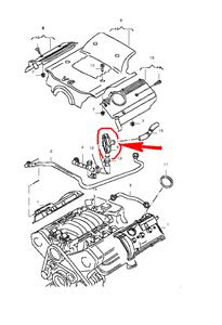 Location pcv valve engine and the egr valve where are they