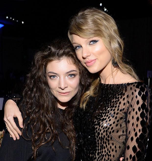 Lorde e Taylor são melhores amigas desde o Grammy 2014 (Foto: Getty Images)