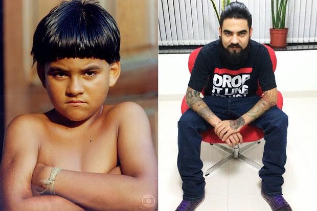 Pedro oliveira - Antes e Depois (Foto: CEDOC/TV Globo - Instagram / Reprodução)
