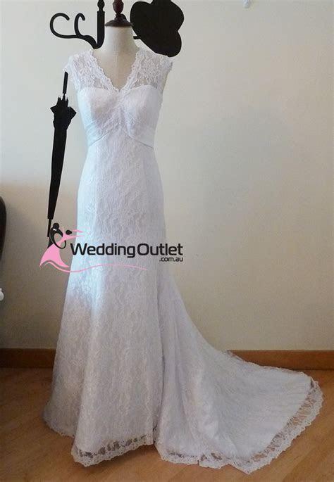 Camille Vintage Lace Wedding Dress   WeddingOutlet.com.au