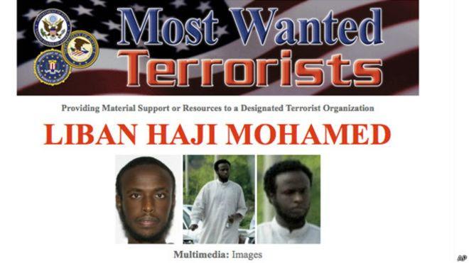 Liban Mohamed, buscado por el FBI