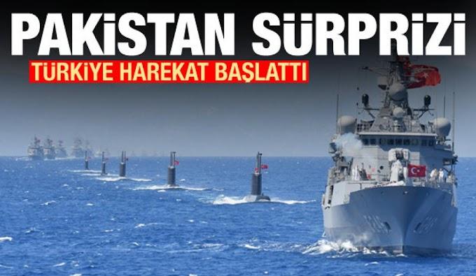 Το Πακιστάν με πολεμικά πλοία δίπλα στους Τούρκους θα περιπολεί στη νοτιοανατολική Μεσόγειο