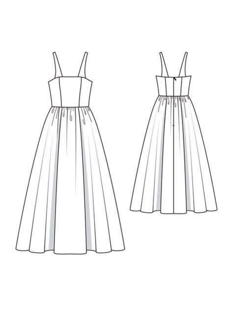 Flower Wedding Dress 03/2010 #117 ? Sewing Patterns