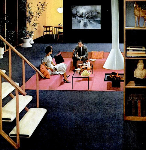 Mid century living living rooms 1960 65 for Rooms to go 1960
