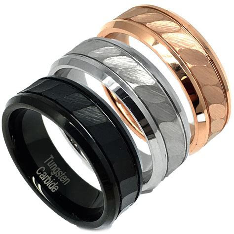 Tungsten Carbide 8mm   Wedding Band Ring for Him or Her