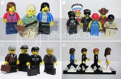 how to make a lego band