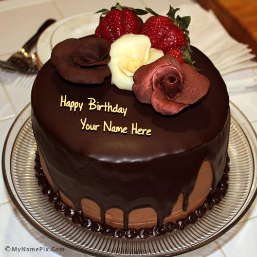 Cakes With Name It Birthday Happy On