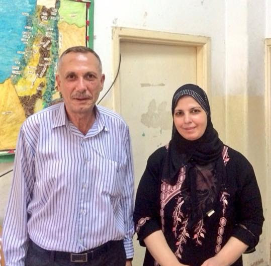 Hashem Azzeh and his wife, Nisreen (date unknown)