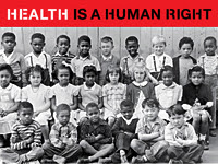 Health is a Human Right. Emerson Elementary School class picture, ca. 1947, Courtesy of Shades of San Francisco, San Francisco Public Library