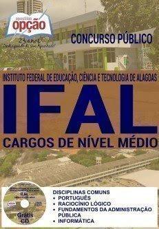 Apostila IFAL 2016 COMUM A TODOS CARGOS DE NÍVEL MÉDIO.