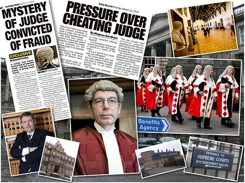 Courts Judges Scotland montage