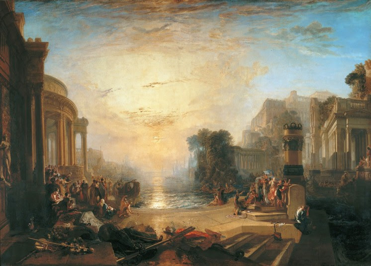 Der Niedergang Karthagos, 1817