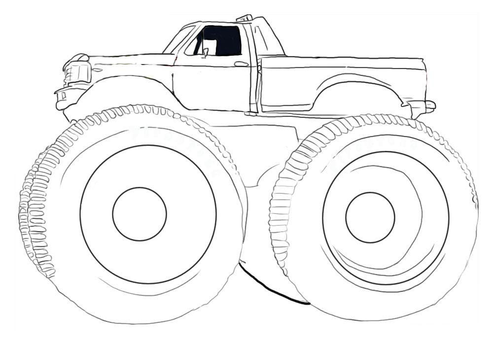 Simple Jeep Drawing at GetDrawings | Free download