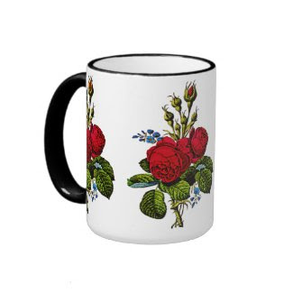 Moss Rose Coffee Mugs