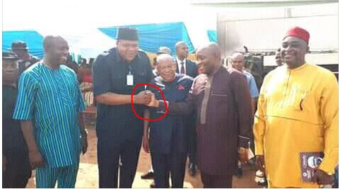 The Handshake Between Two Lawmakers In Imo State That Got People Talking