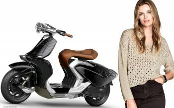 Yamaha 04GEN concept scooter