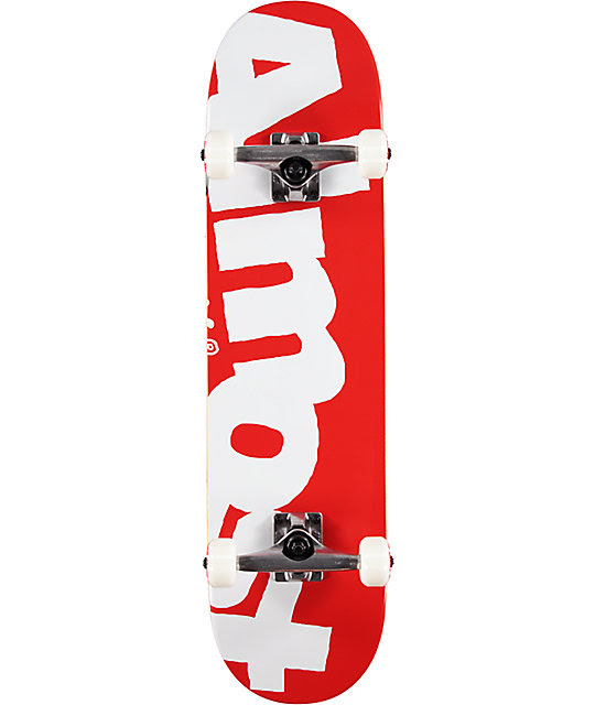 Almost Side Pipe 7.87\u0026quot; Skateboard Complete  Zumiez